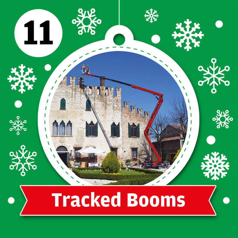 Tracked Boom Hire