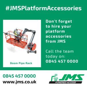 Platform Accessories - Boom Pipe Rack