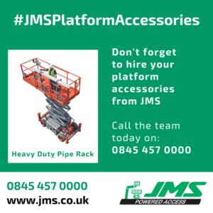 Platform Accessories - RT Heavy Duty Pipe Rack