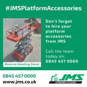 Platform Accessories - Material Handling Stand