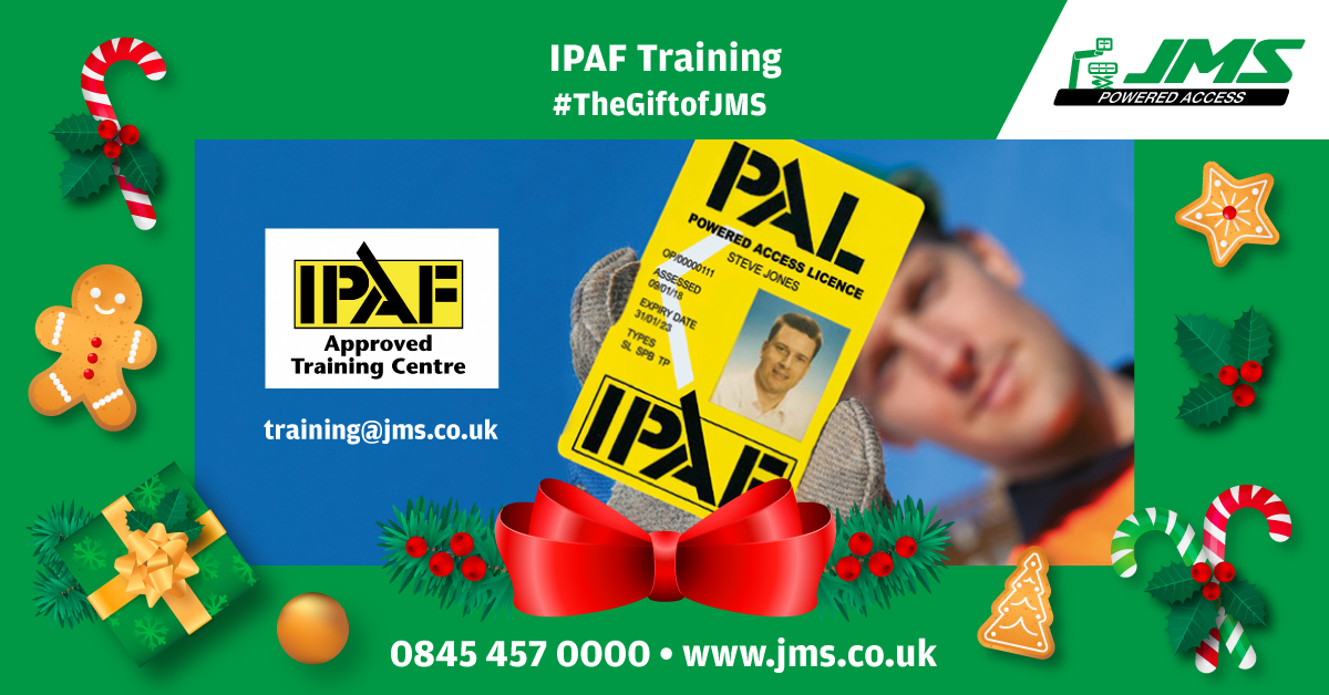 The Gift of JMS - IPAF Training