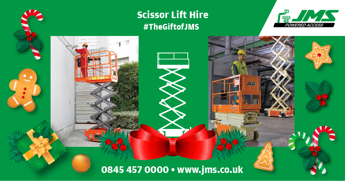 The Gift of JMS - Scissor Lift Hire