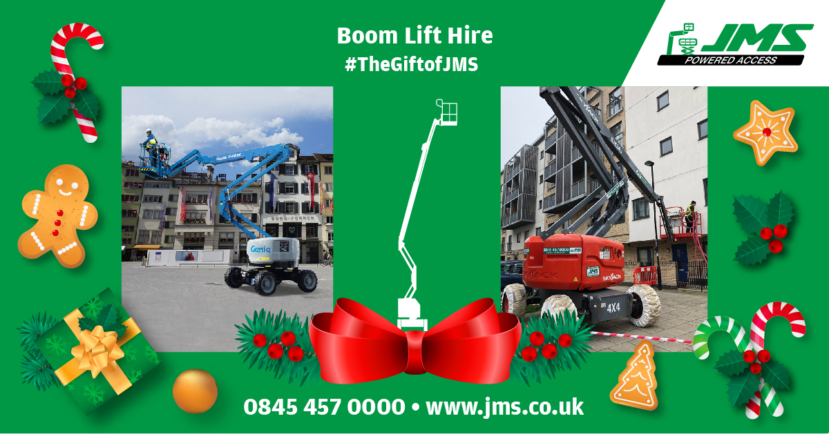 The Gift of JMS - Boom Lift Hire