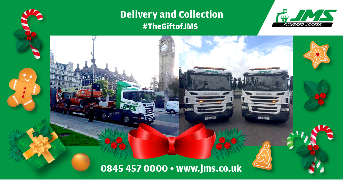 The Gift of JMS - Delivery and Collection