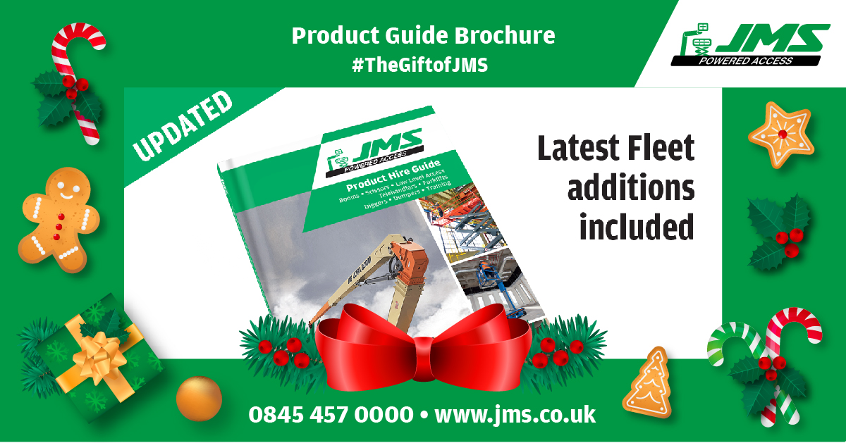 The Gift of JMS - Pocket Product Hire Brochure