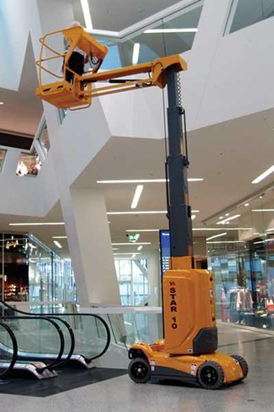 Haulotte Star 10 – 10.0m Mast Boom Lift