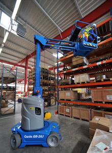 Genie GR20J – 7.70 m Vertical Mast Lift