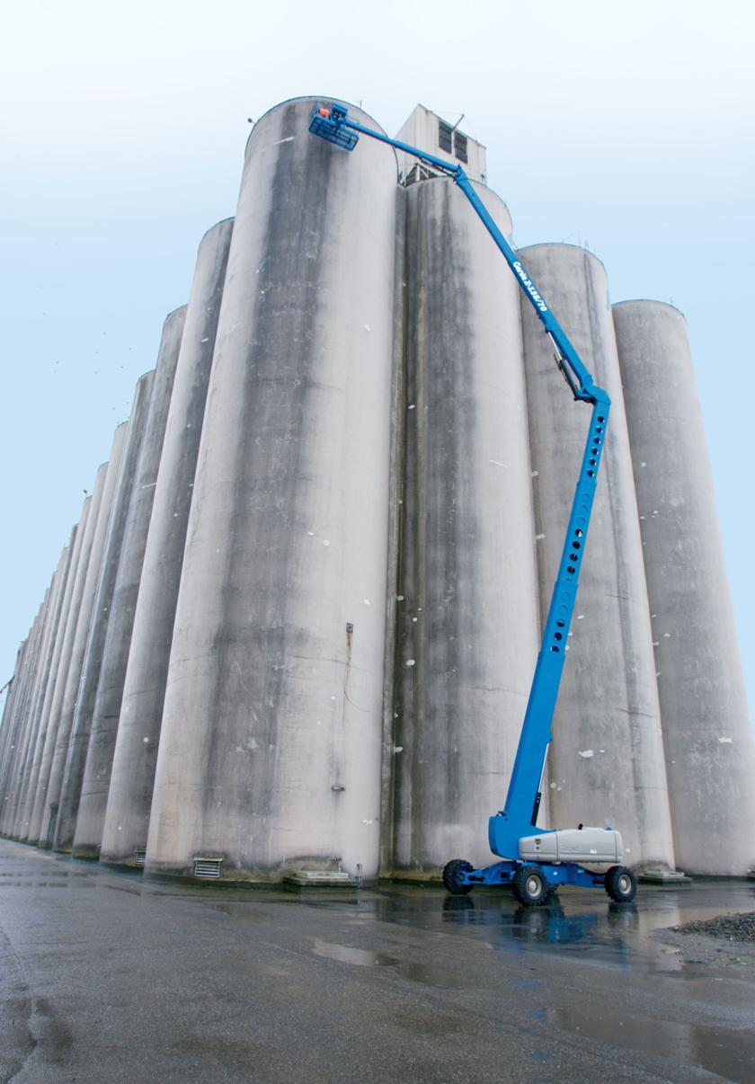 Genie Z135-70 – 42.90m Diesel Boom Lift