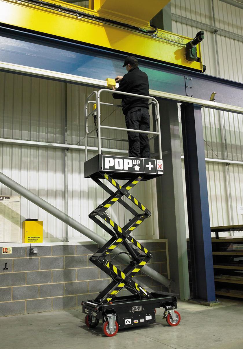 Pop Up+ – 4.5m – Low Level Access