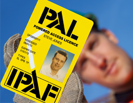 IPAF PAL Operators Card