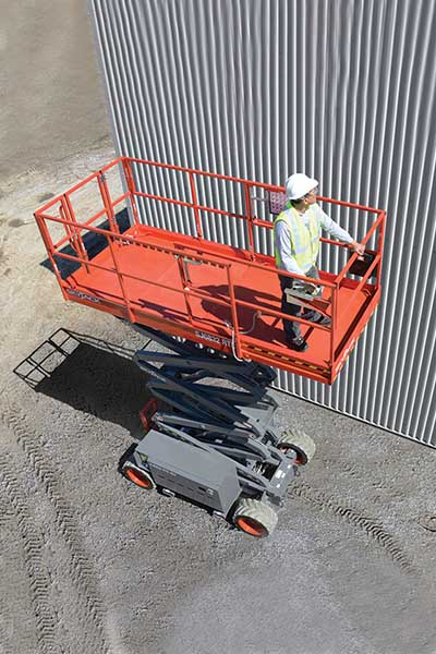 Skyjack 6832RTE - 11 58m - Electric Rough Terrain Scissor Lift