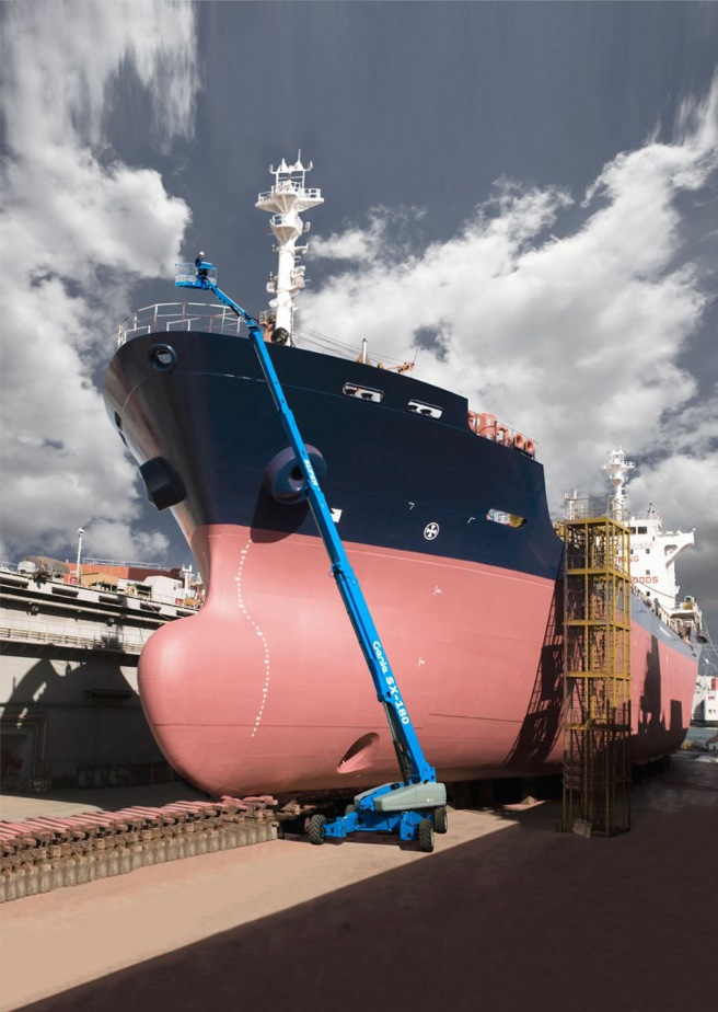 New Genie SX-180 roars into the hire fleet | JMS Powered Access