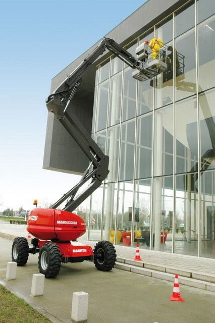 Cherry Picker Hire – Manitou 160ATJ | JMS Powered Access
