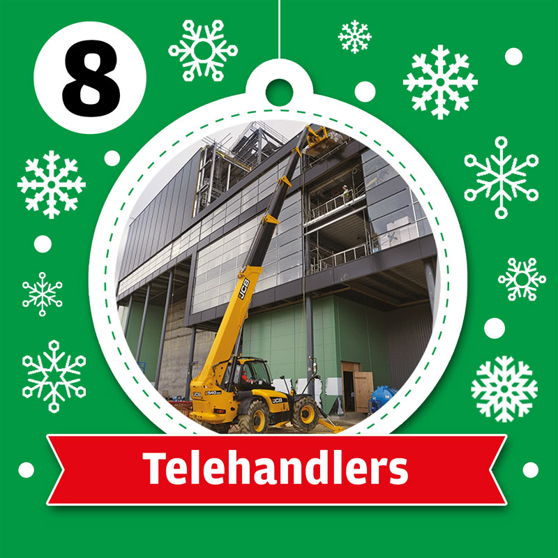 JMS Telehandlers for Hire