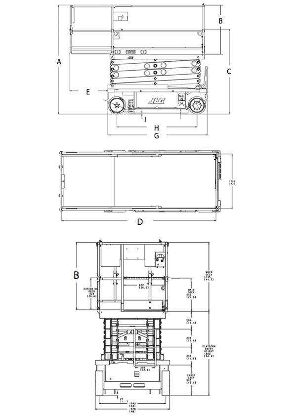 JLG 10RS - 11 75m - Electric Scissor Lift