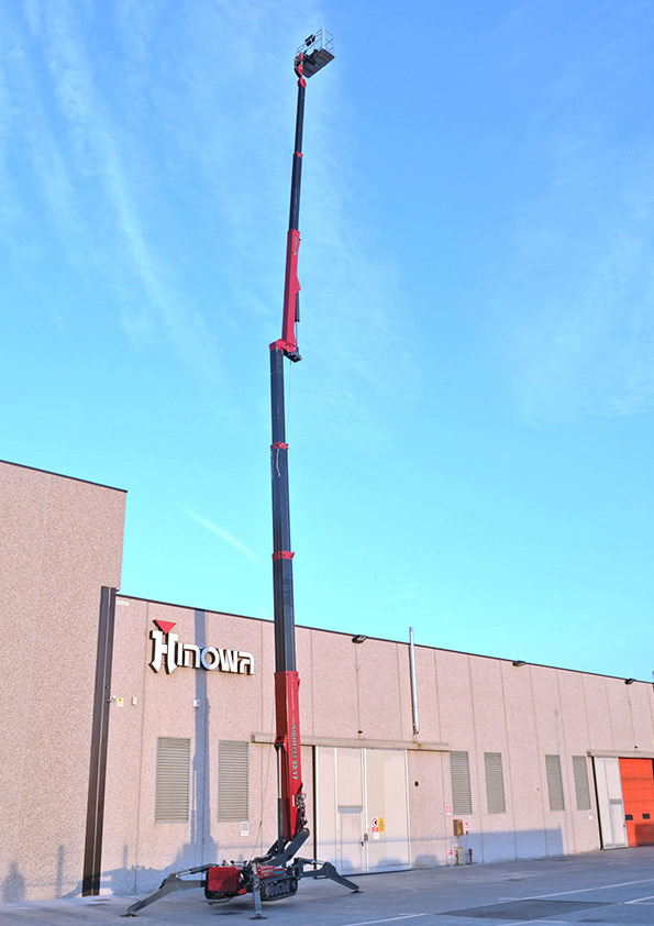 Hinowa Lightlift 33.17 – 32.60m Spider Boom