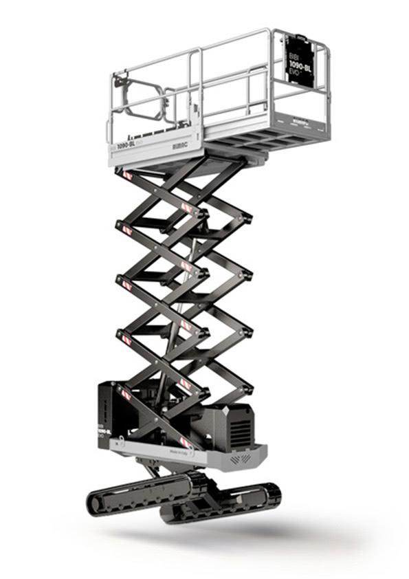 Almac Bibi 1090-BL mini crawler scissor lift