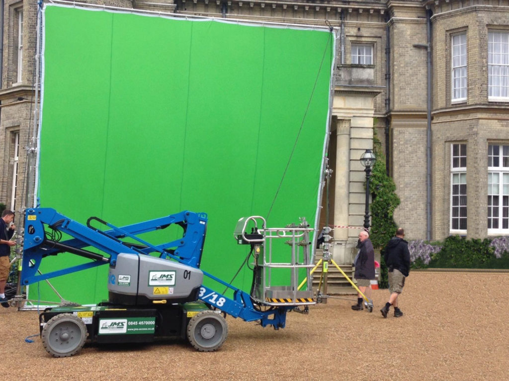 Genie Boom with green screen JMS Media access