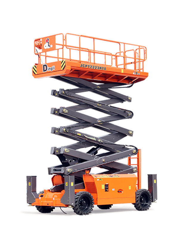 When the going gets tough this scissor lift gets going | JMS