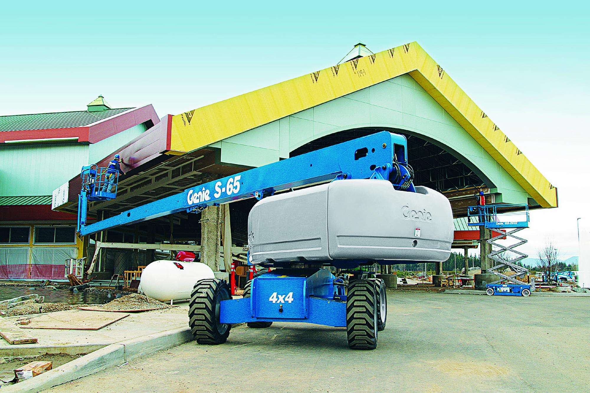 Genie S60 – 20.30 m Telescopic Boom Lift