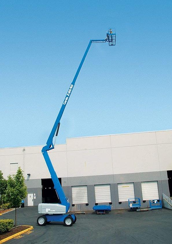 Genie Z-80/60 – 25.77m Articulating Boom Lift