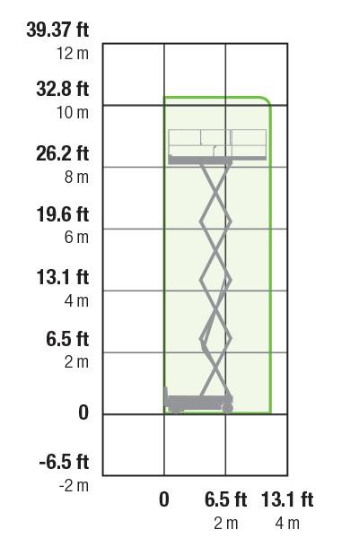 Haulotte Compact 10DX - 10.15m - sel Scissor Lift on